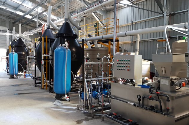 Norco Dairy Wastewater Treatment Dissolved Air Flotation