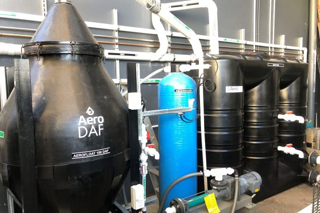 All Natural Kitchen Food & Beverage Wastewater Treatment Dissolved Air Flotation