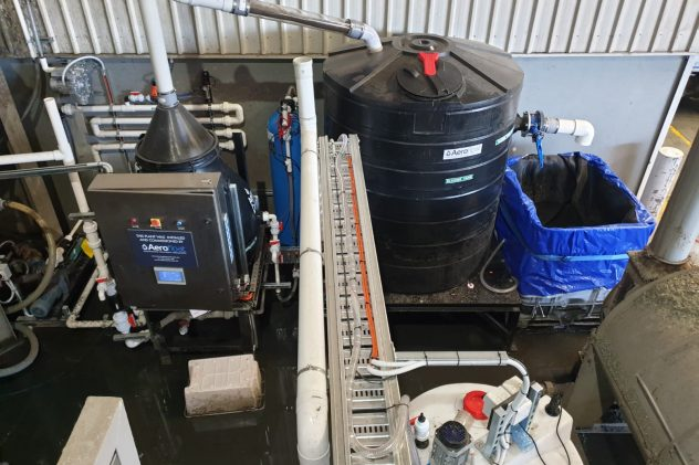 astron plastics recycling wastewater treatment