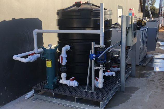 Devils Elbow brewery wastewater treatment pH correction