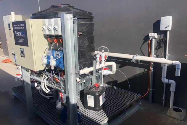 brewery wastewater treatment dissolved air flotation