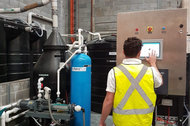 4Pines Sydney brewery wastewater treatment dissolved air flotation