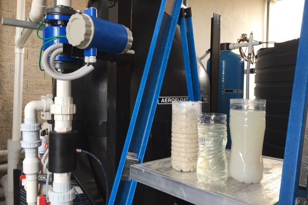 Food & Beverage Wastewater Treatment Dissolved Air Flotation
