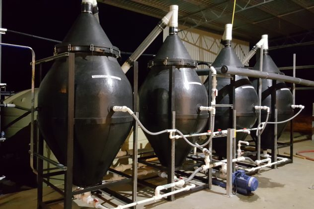plastics recycling wastewater treatment dissolved air flotation daf
