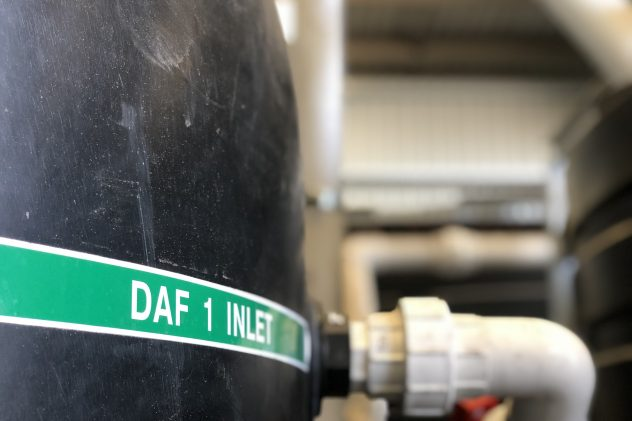 DAF dissolved air flotation wastewater treatment