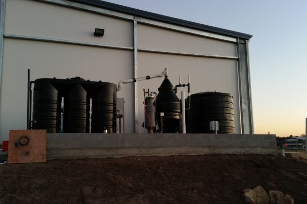 Cordina Farms poultry processing wastewater treatment
