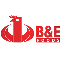 B&E foods logo