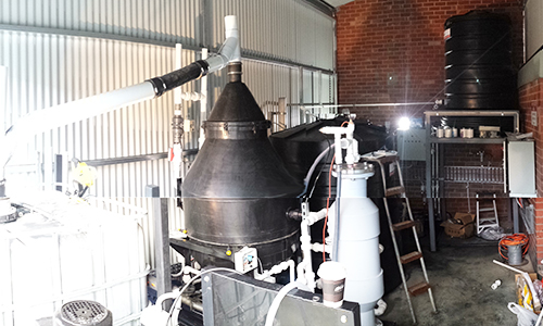 Pope Packaging Industrial Wastewater Treatment dissolved air flotation