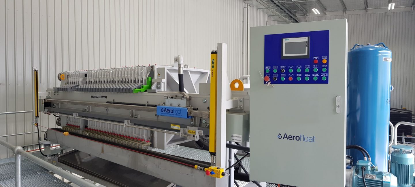 sludge detwatering solutions aerofloat wastewater treatment